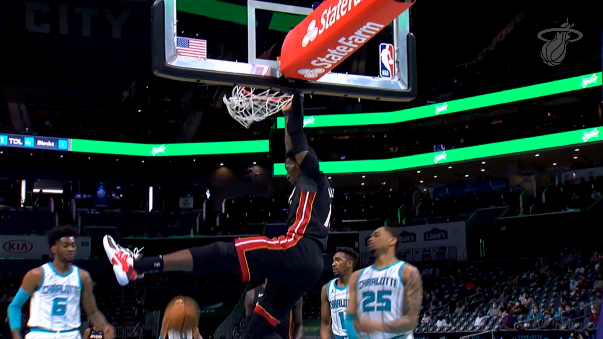 Bam Leads Miami With 20 Points