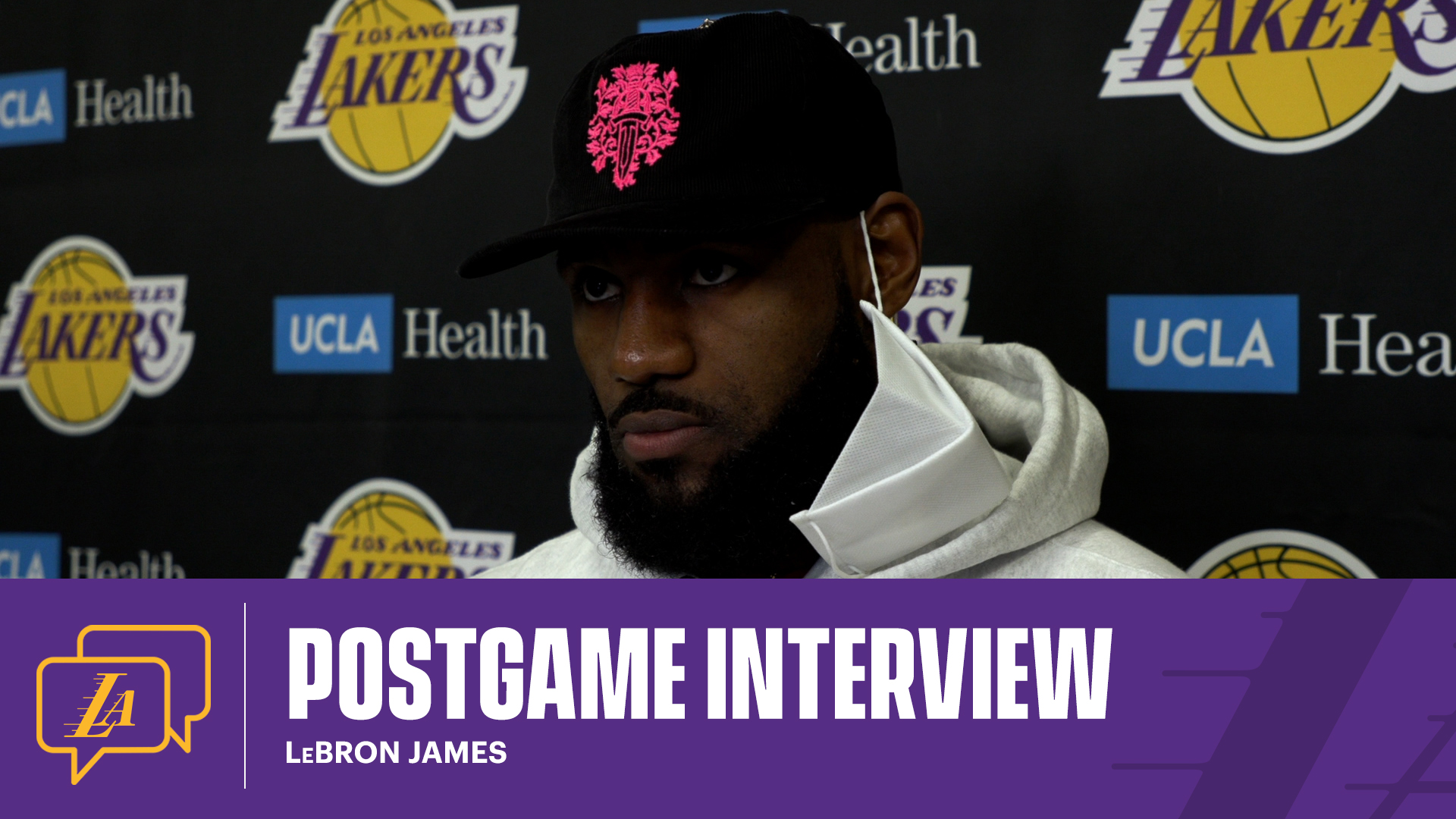 Lakers Postgame: LeBron James (5/2/21)
