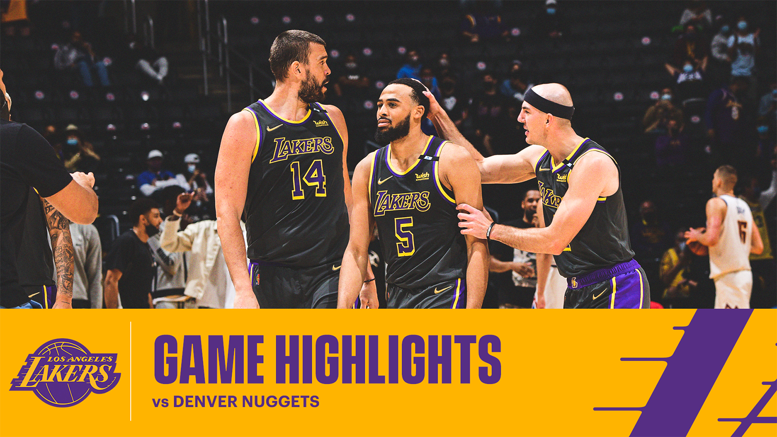HIGHLIGHTS | Los Angeles Lakers vs Denver Nuggets