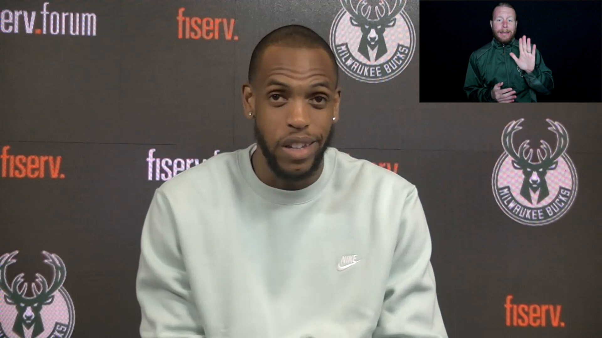 Khris Middleton ASL Press Conference | 5.4.21