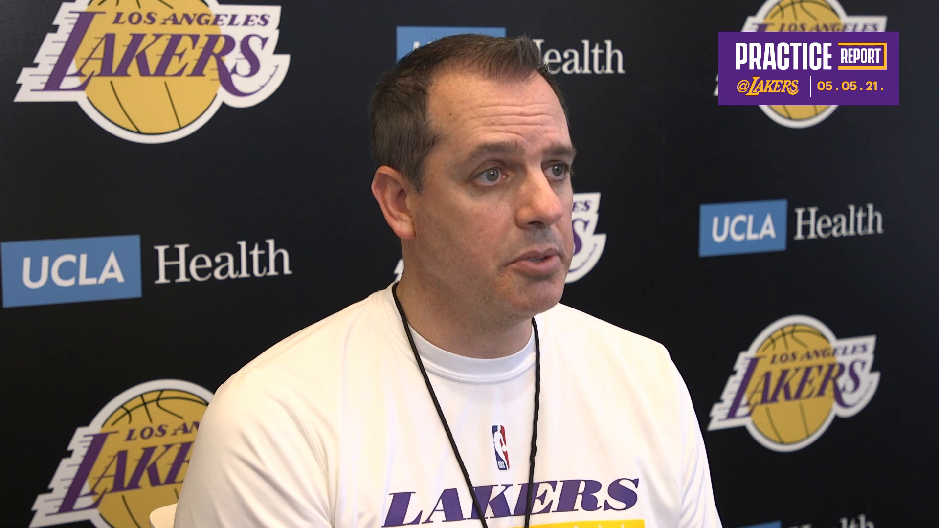 Lakers Practice Report: Frank Vogel (5/5/21)
