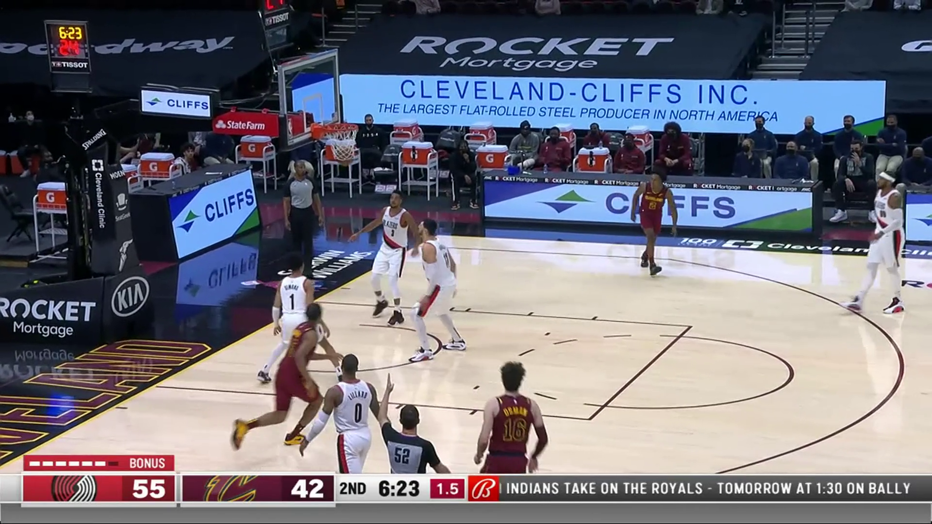 Cedi Connects on Fall Away Three