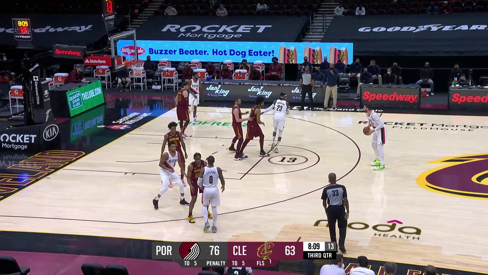 Trail Blazers 141, Cavaliers 105 | Game Highlights by McDelivery