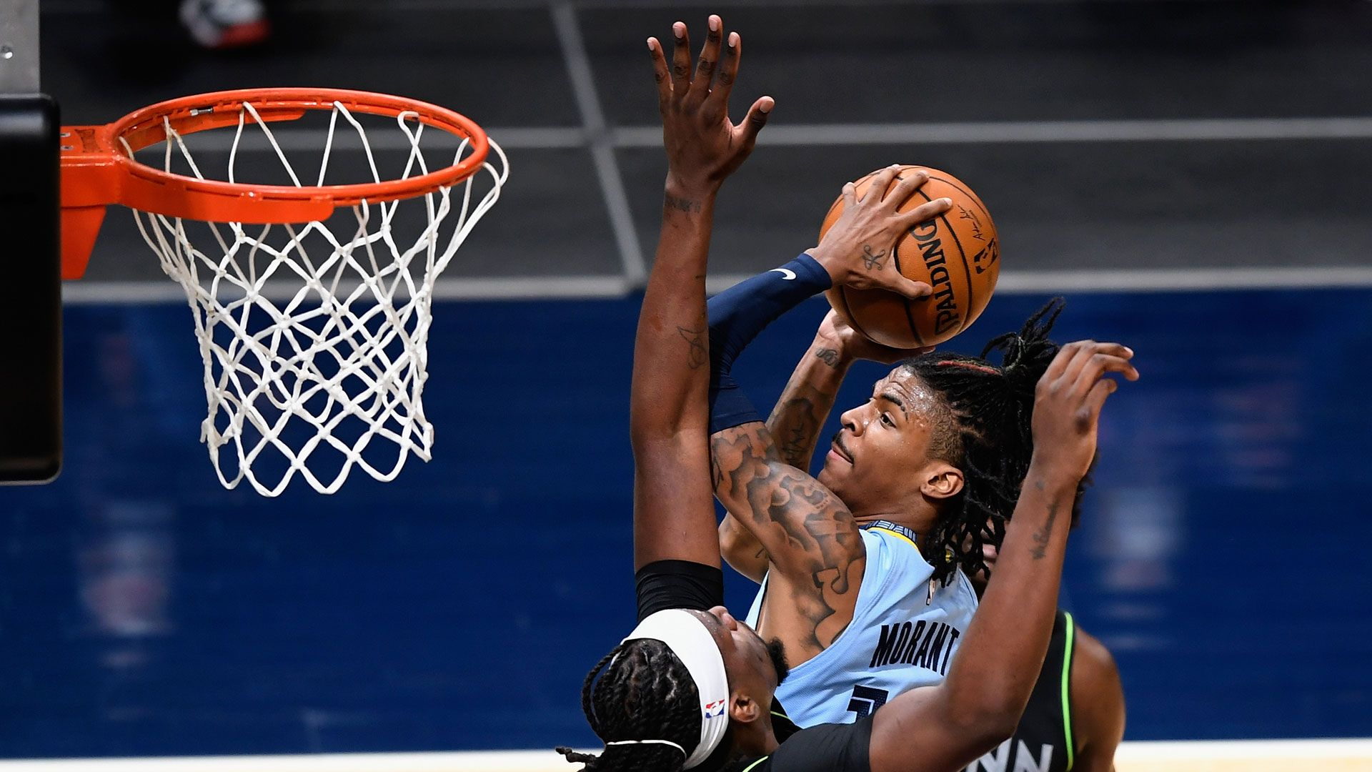 Ja Morant 37 points @ Timberwolves 5.5.21