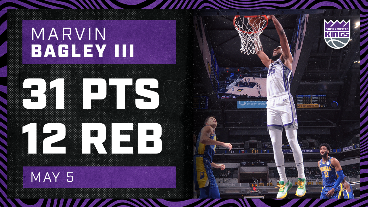 Marvin Racks Up 31 PTS in Indiana Dub | Kings vs Pacers 5.5.21