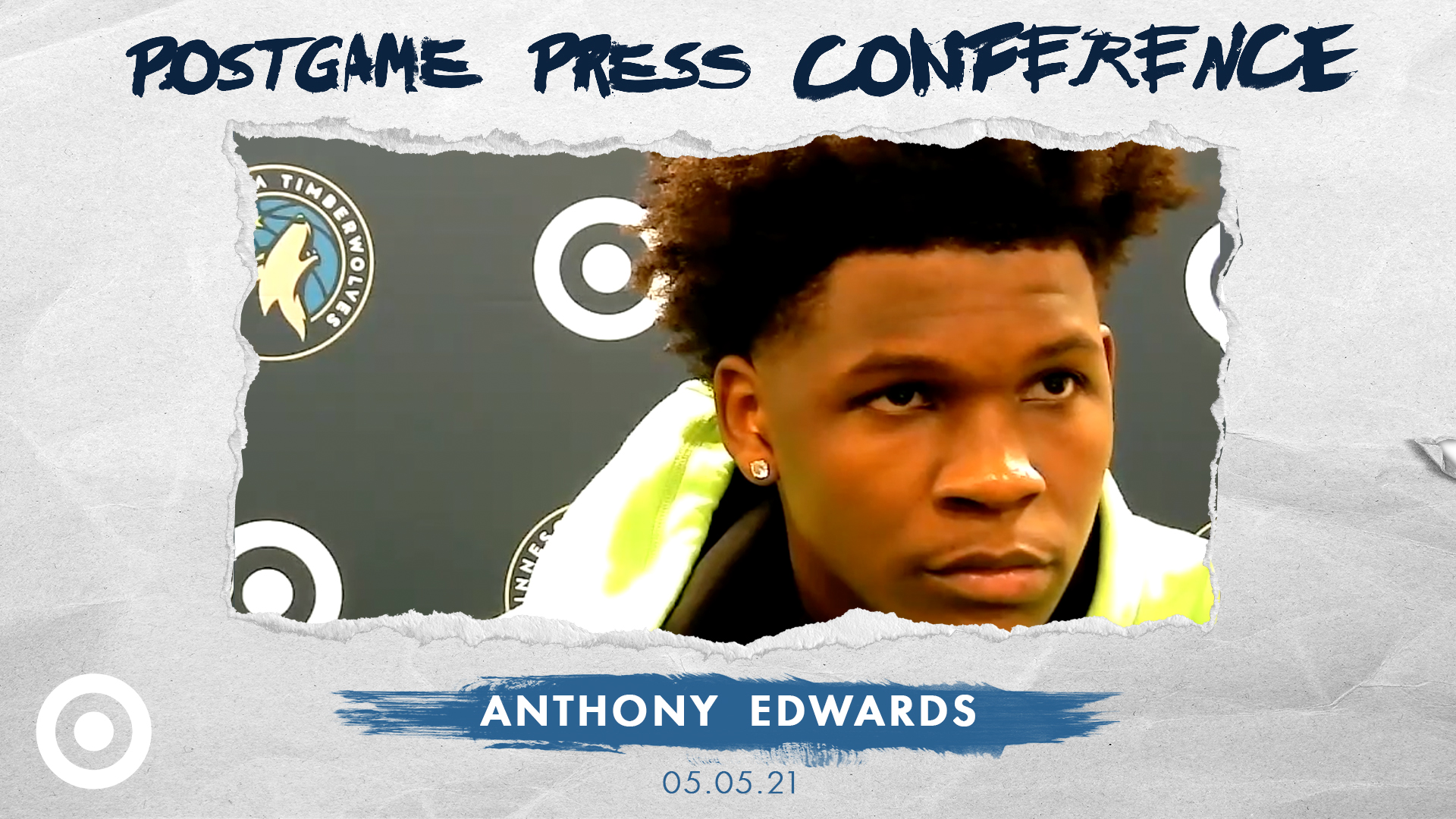 Anthony Edwards Postgame Press Conference - May 5, 2021