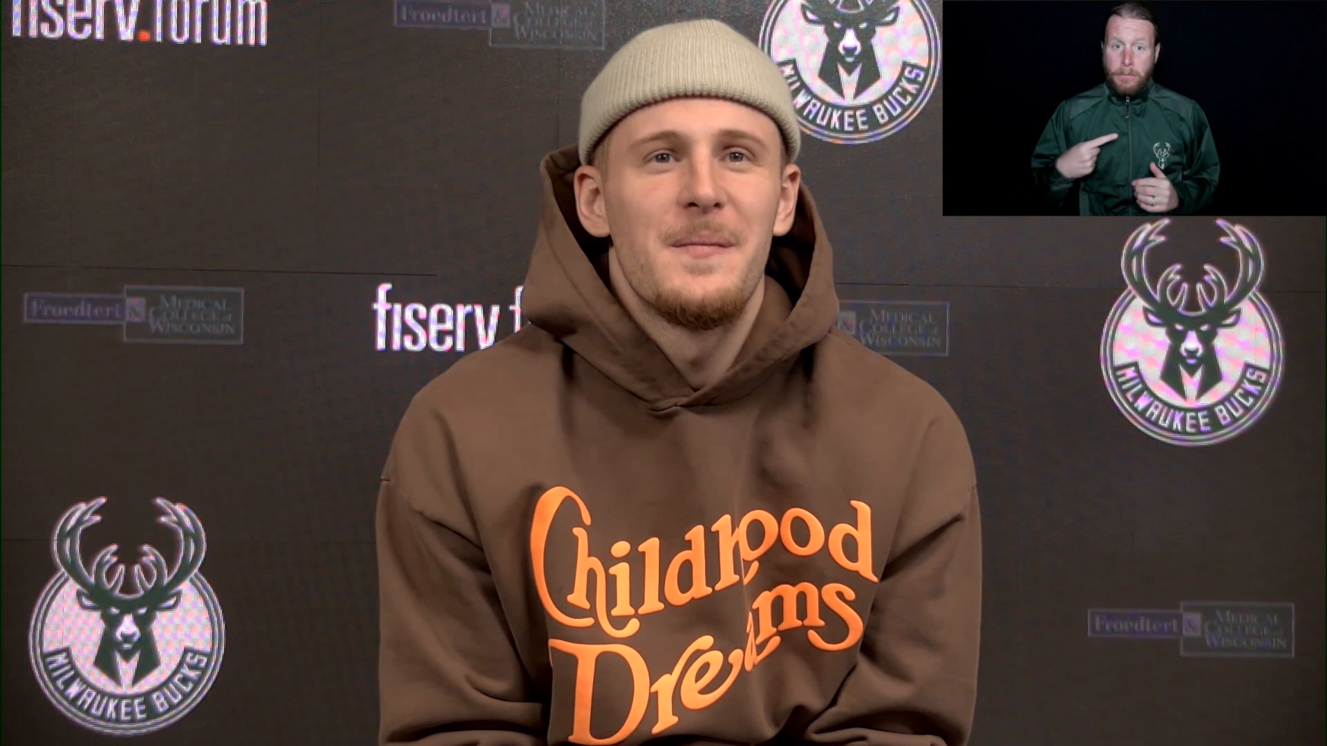 Donte DiVincenzo ASL Press Conference | 5.5.21
