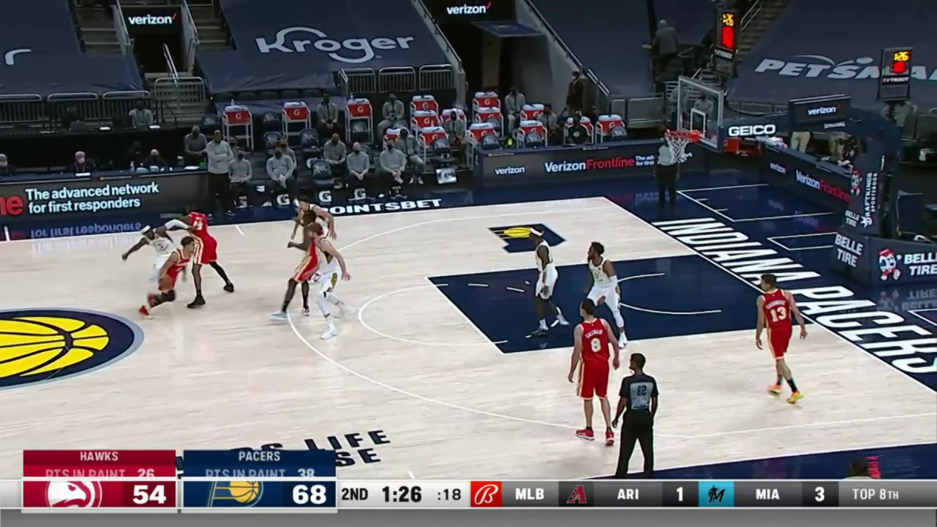 Young Leads Hawks With 30 Points vs. Pacers
