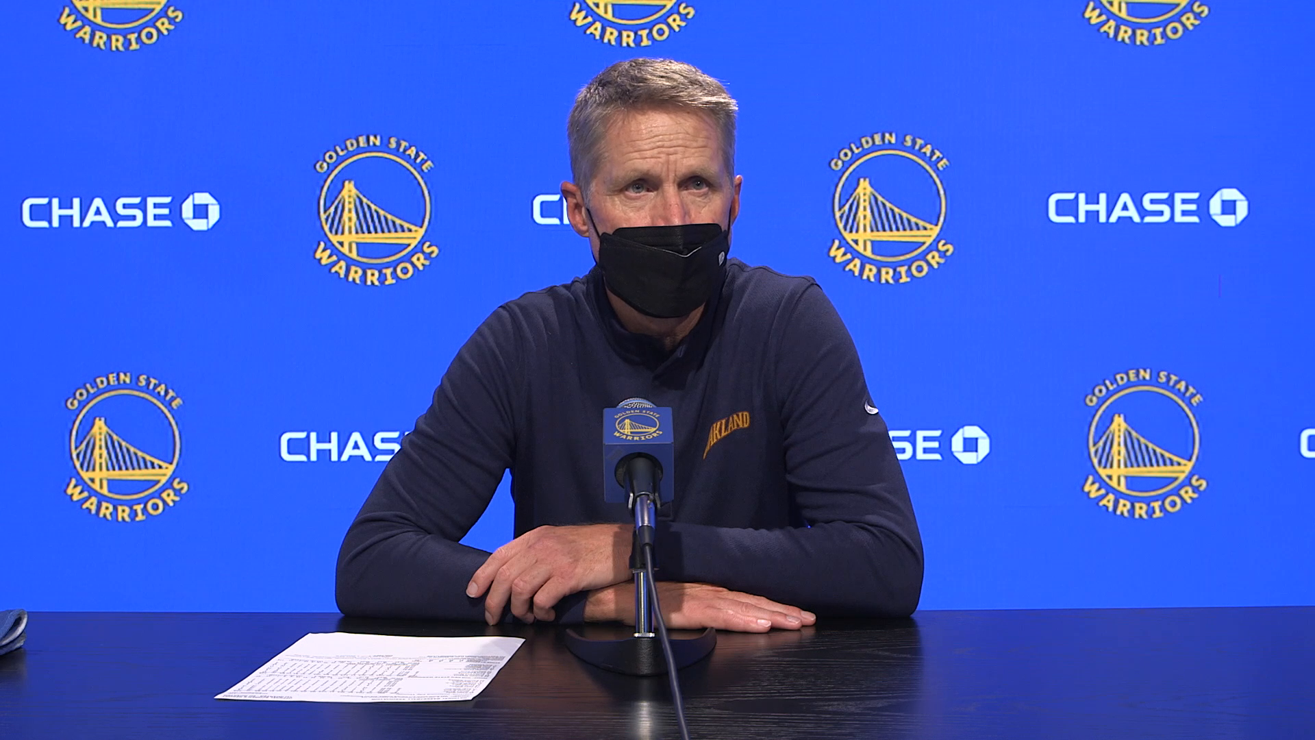 Postgame Warriors Talk: Steve Kerr - 5/6/21