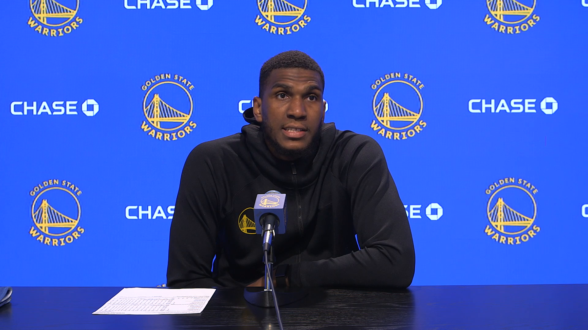 Postgame Warriors Talk: Kevon Looney - 5/6/21