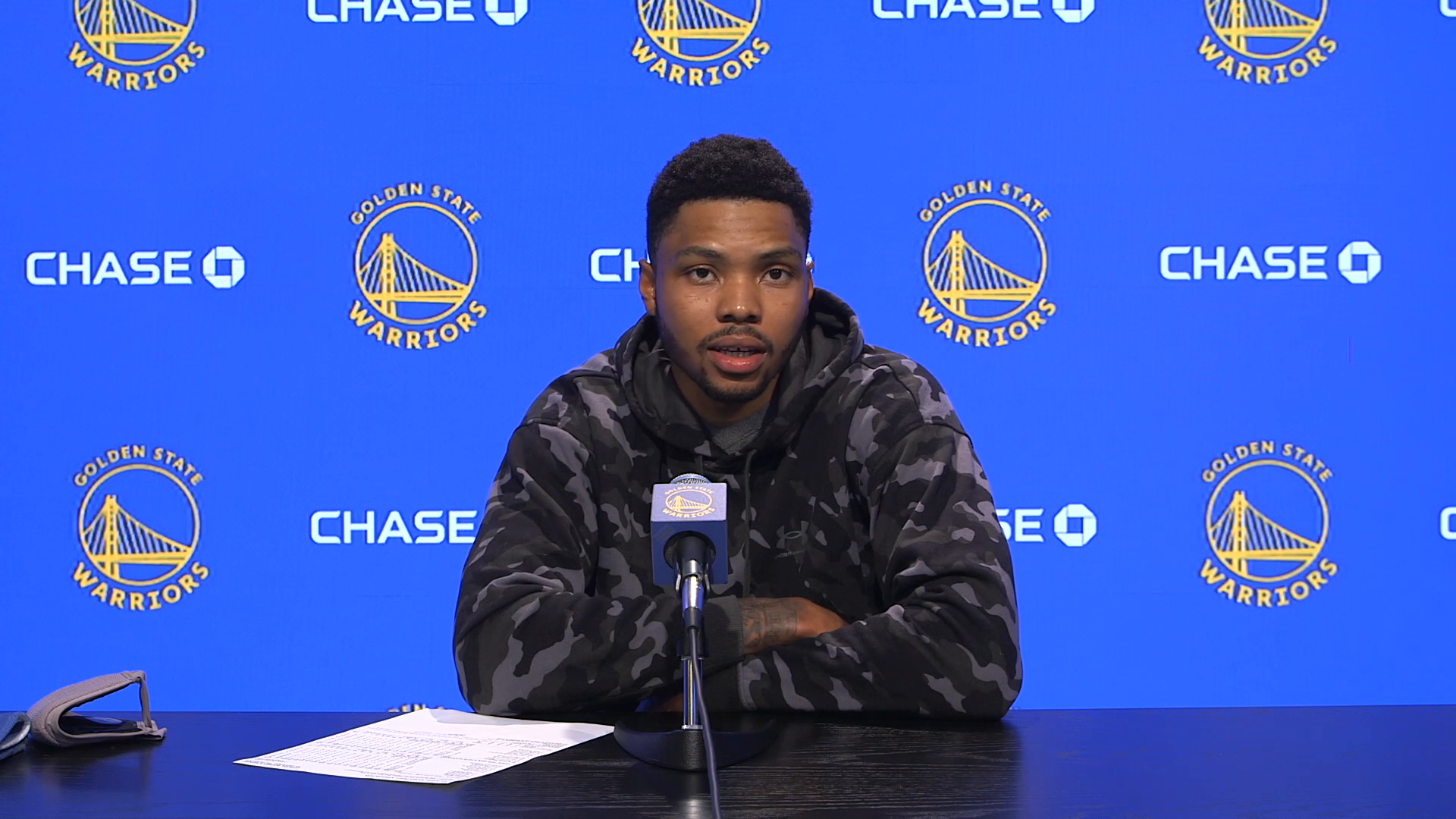 Postgame Warriors Talk: Kent Bazemore - 5/6/21