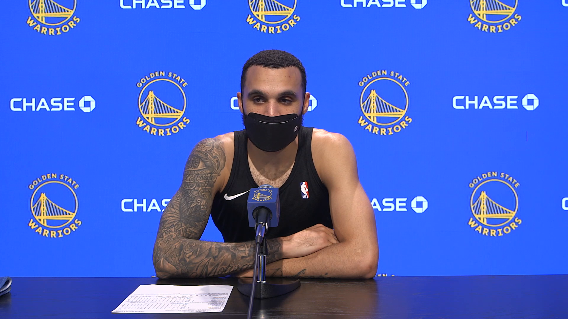 Postgame Warriors Talk: Mychal Mulder - 5/6/21