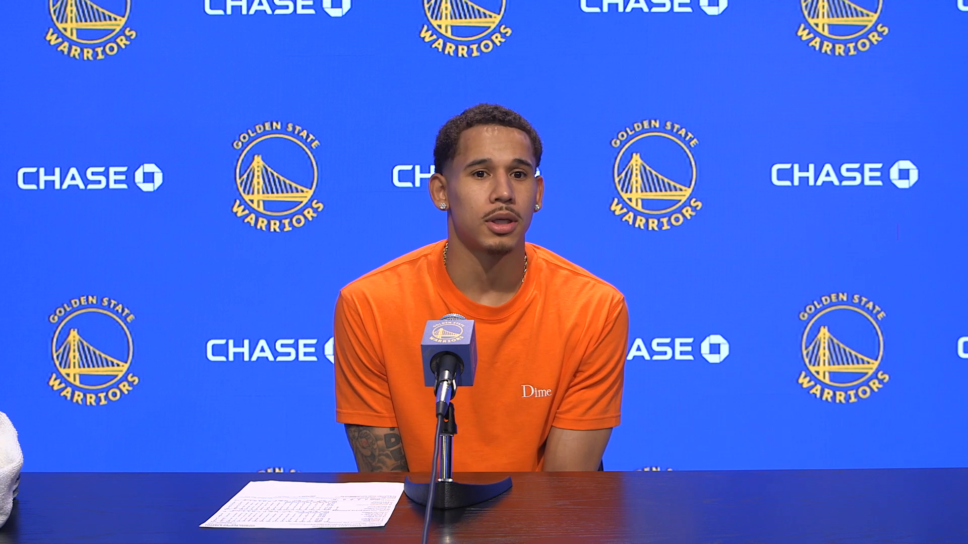Postgame Warriors Talk: Juan Toscano-Anderson - 5/6/21