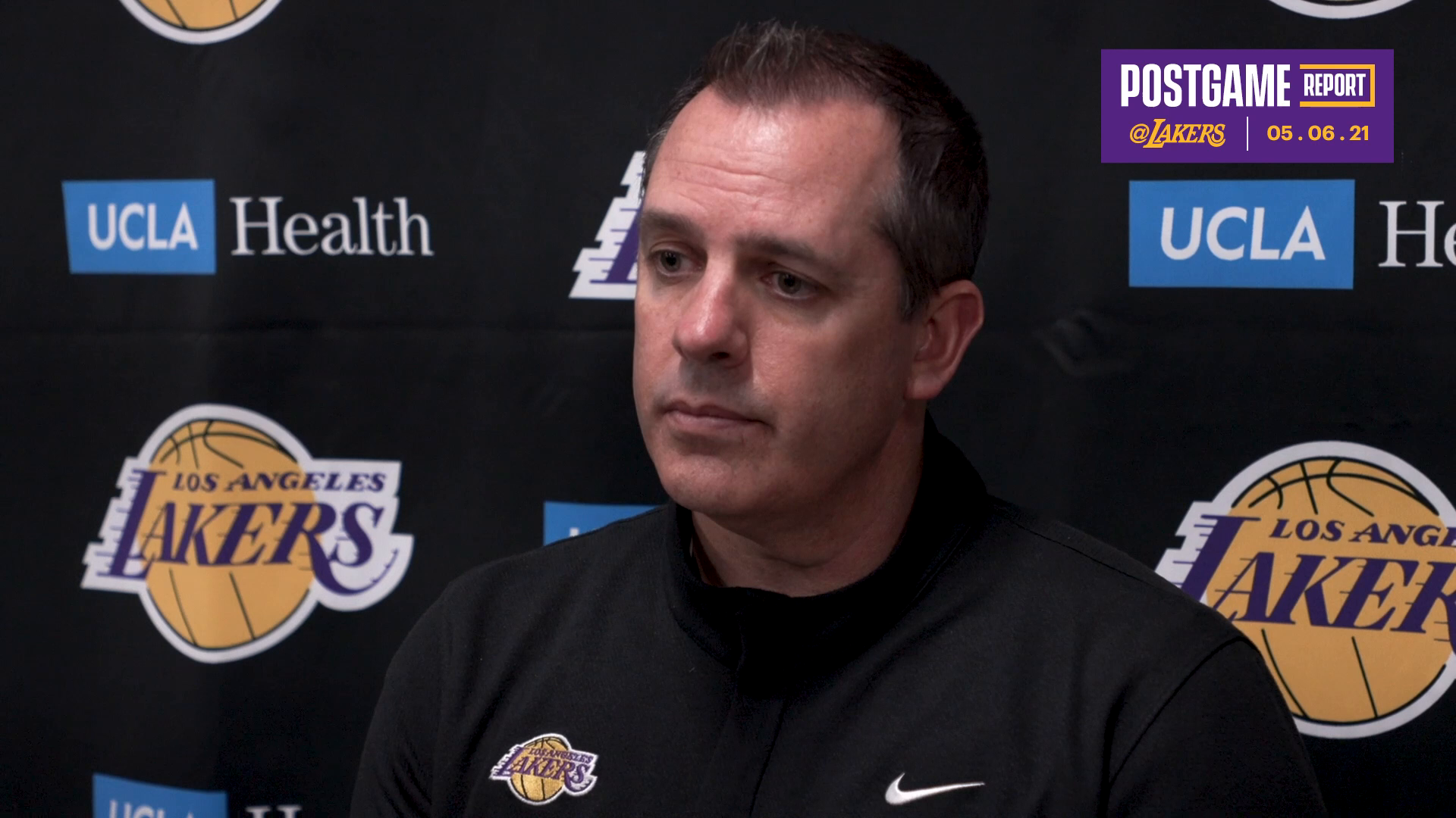 Lakers Postgame: Frank Vogel (5/6/21)