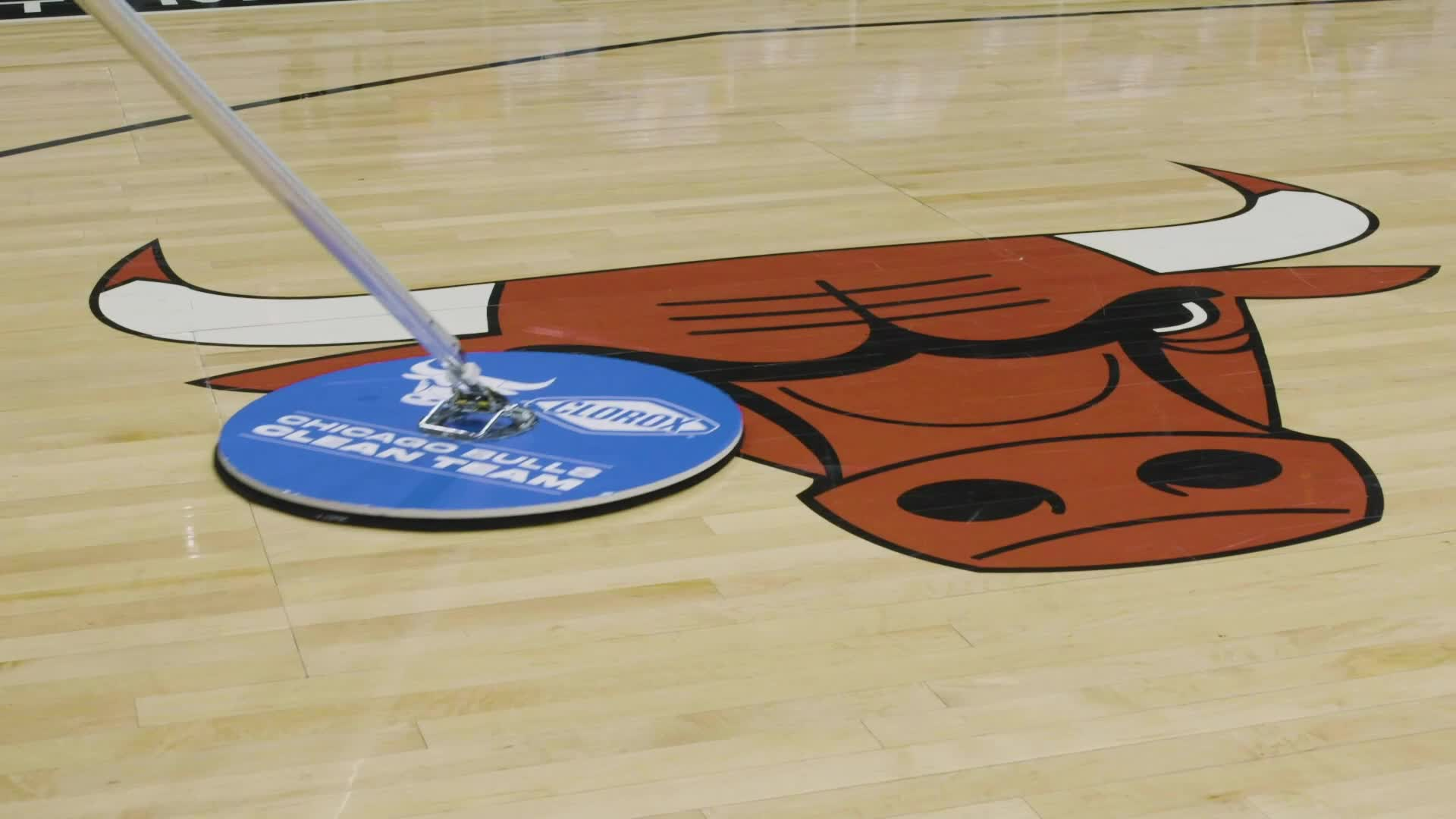 Bulls and Clorox - Teaming up to create a cleaner and safer fan experience