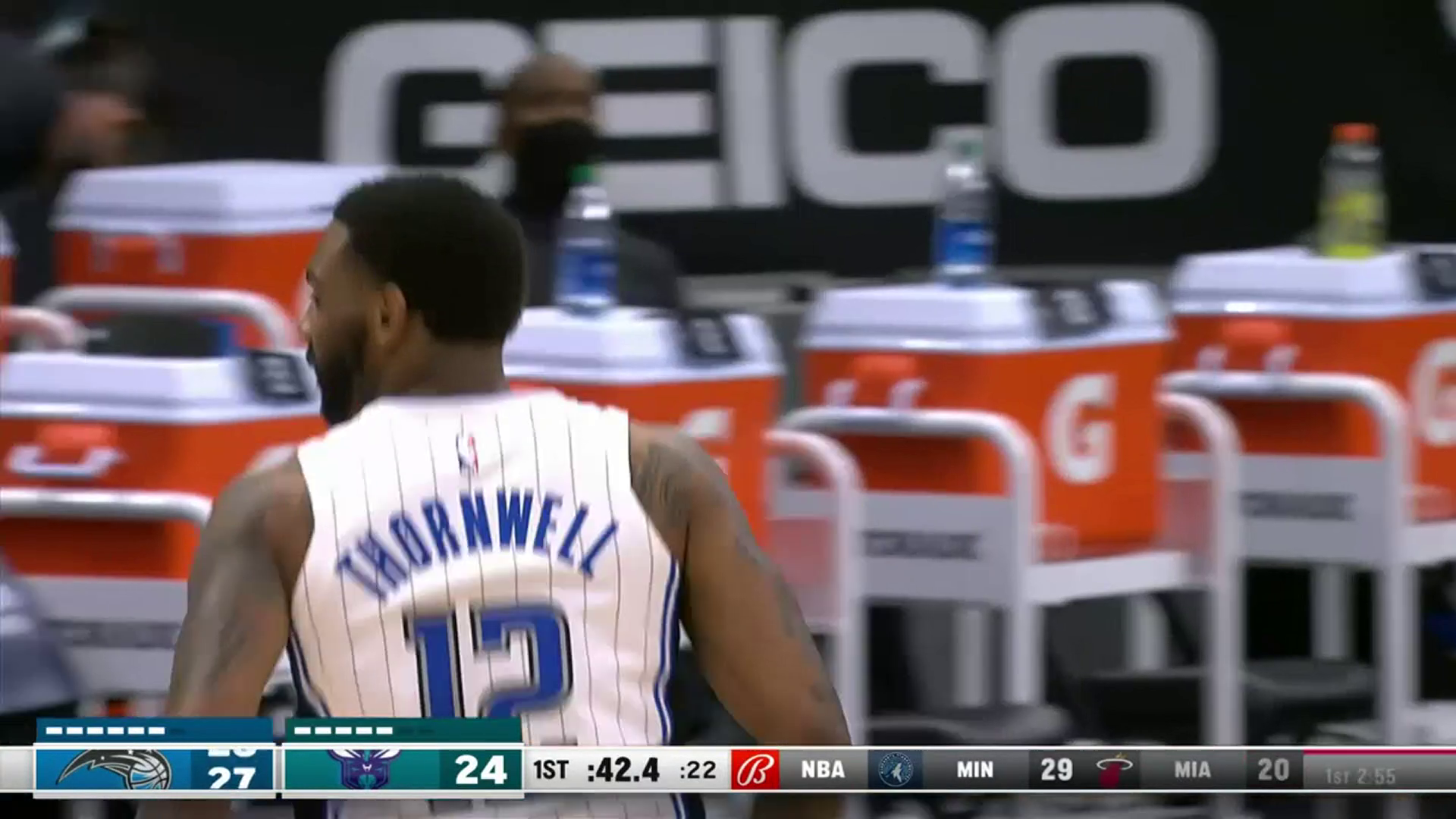 Sindarius Thornwell's First Bucket with the Magic