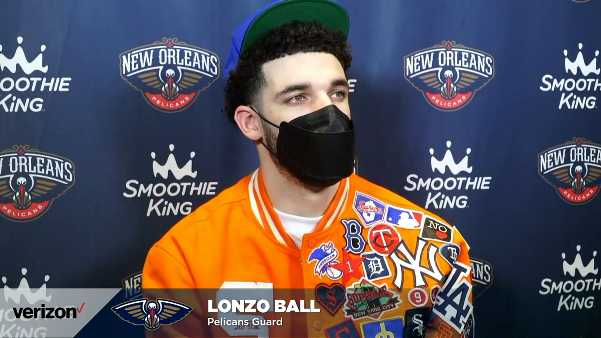 Pelicans-76ers Postgame: Lonzo Ball 5-7-21