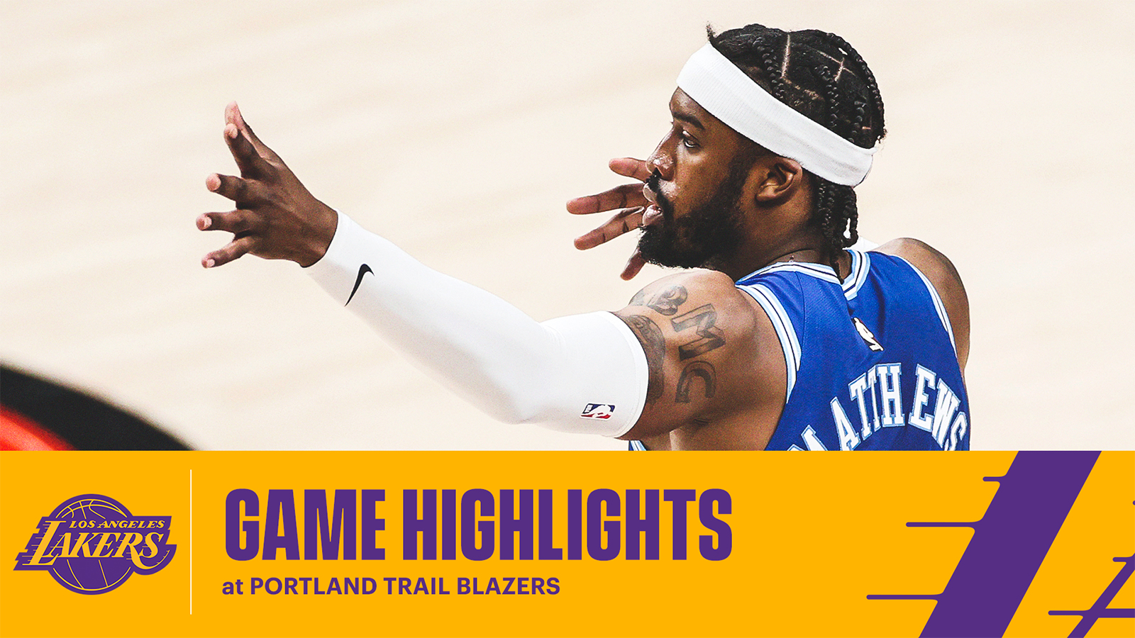 HIGHLIGHTS | Los Angeles Lakers at Portland Trail Blazers