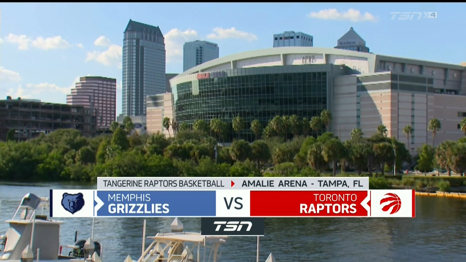 Tangerine Game Highlights: Grizzlies at Raptors - May 08,2021