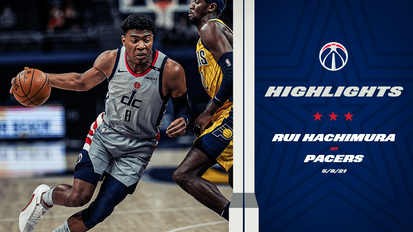 Highlights: Rui Hachimura at Pacers - 5/8/21