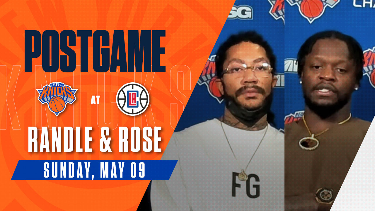Postgame: Julius Randle and Derrick Rose | Knicks @ Clippers