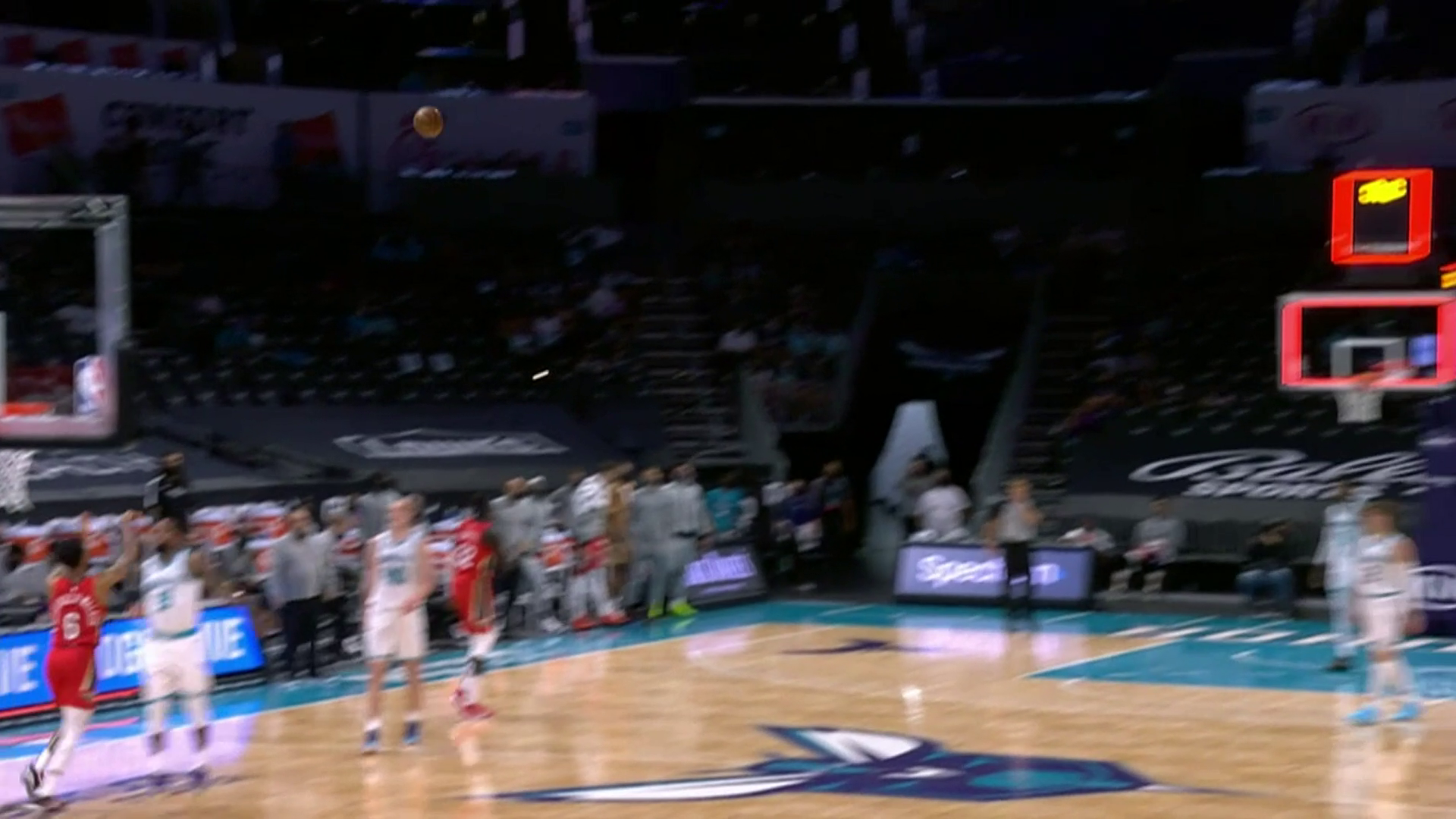 Nickeil Alexander-Walker buzzer-beater | Pelicans-Hornets Highlights