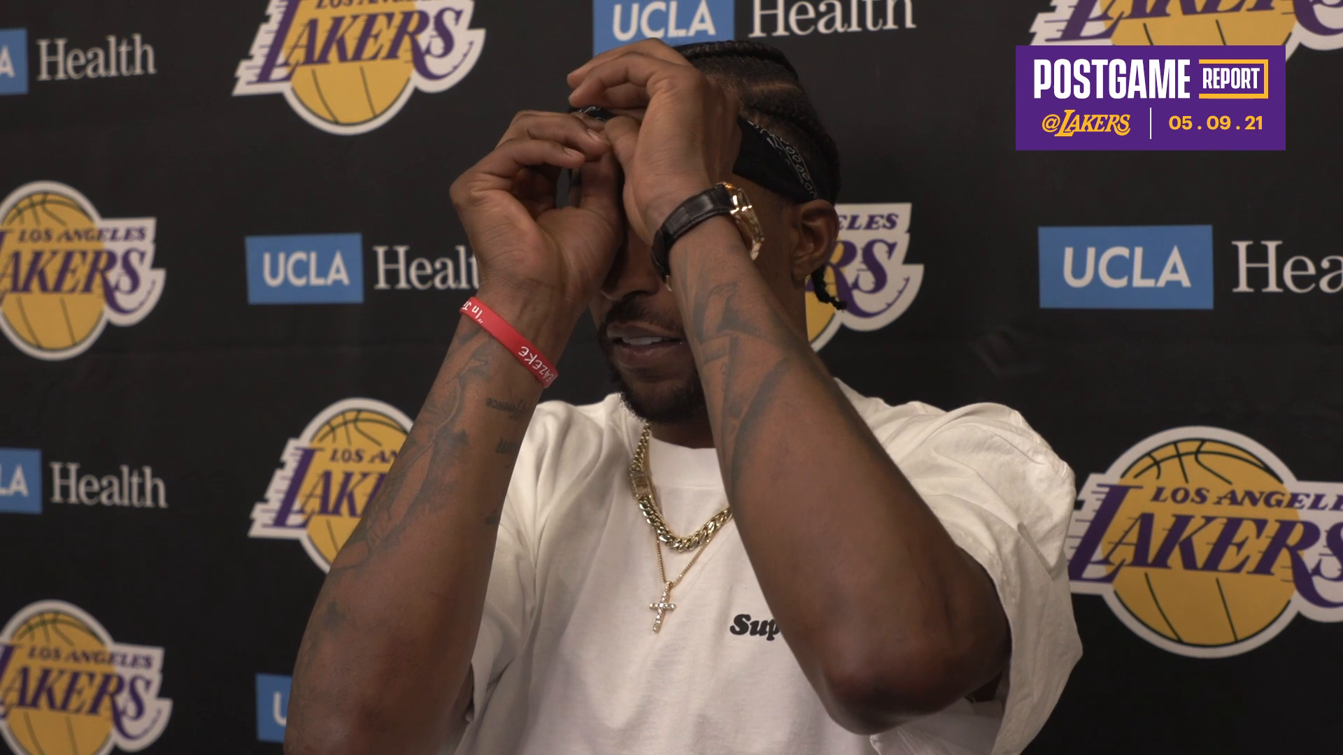 Lakers Postgame: Kentavious Caldwell-Pope (5/9/21)
