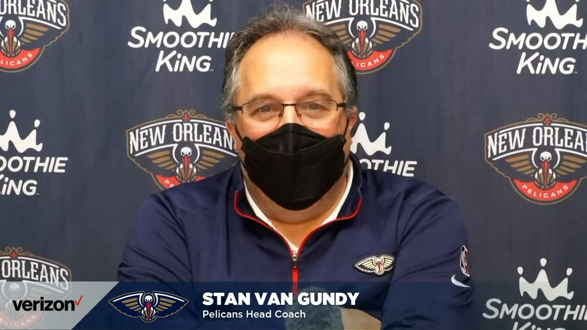 Pelicans-Grizzlies Postgame Interview: Stan Van Gundy 5-10-21