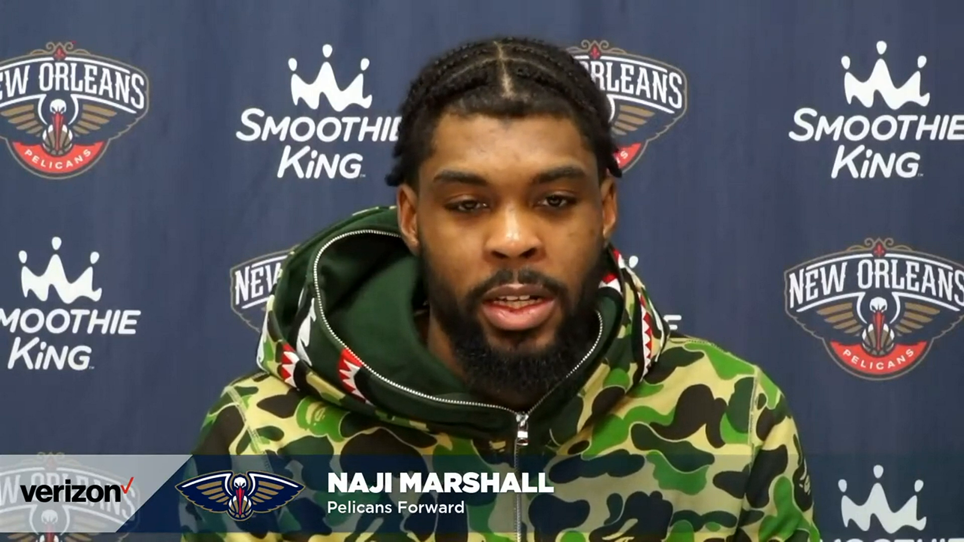 Pelicans-Grizzlies Postgame Interview: Naji Marshall 5-10-21