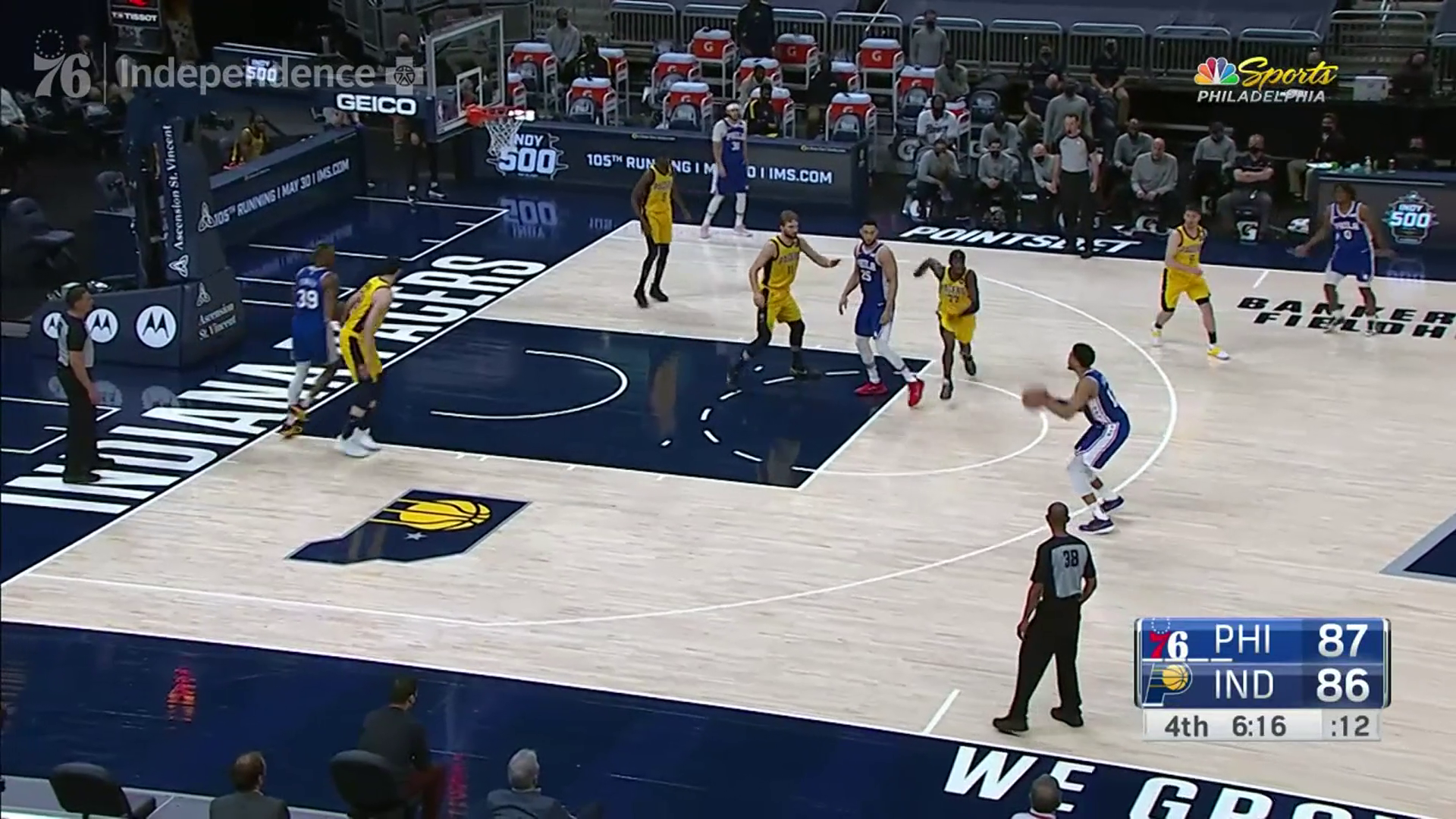 Tobias Harris | Highlights @ Indiana Pacers (05.11.21)