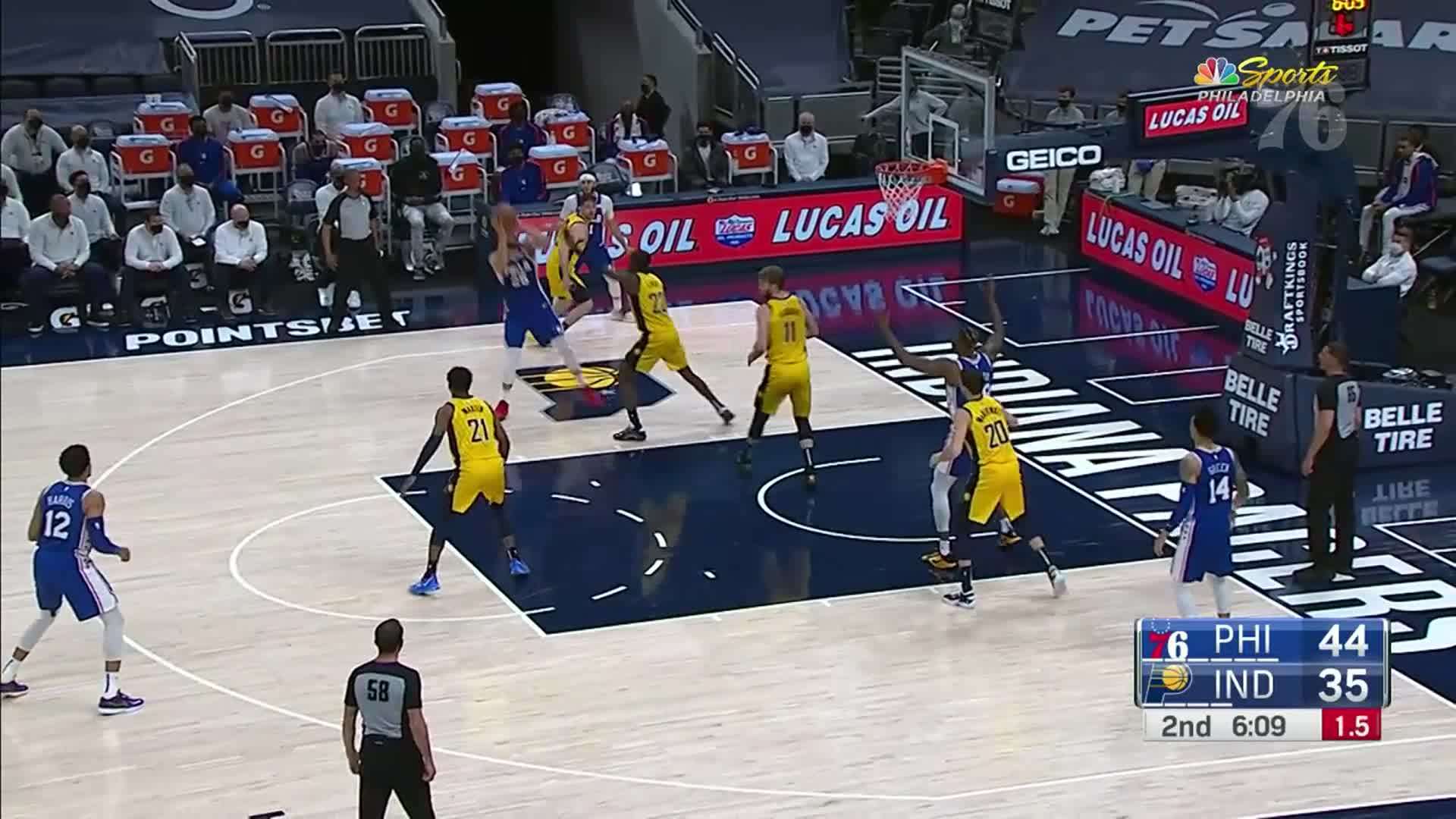 Ben Simmons | Highlights @ Indiana Pacers (05.11.21)