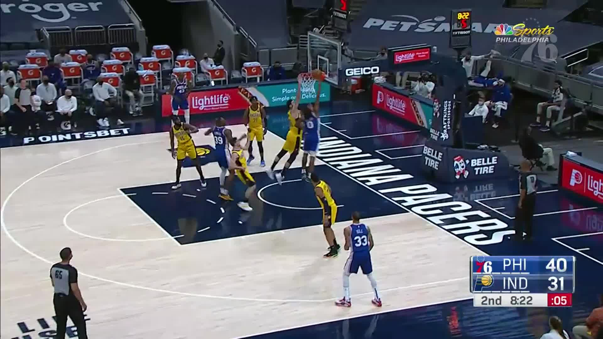 Tyrese Maxey | Highlights @ Indiana Pacers (05.11.21)