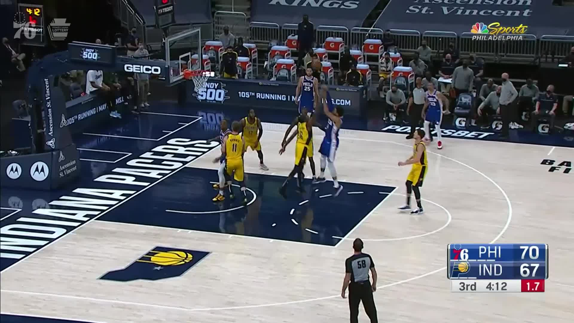 Highlights | 76ers @ Pacers (05.11.21)