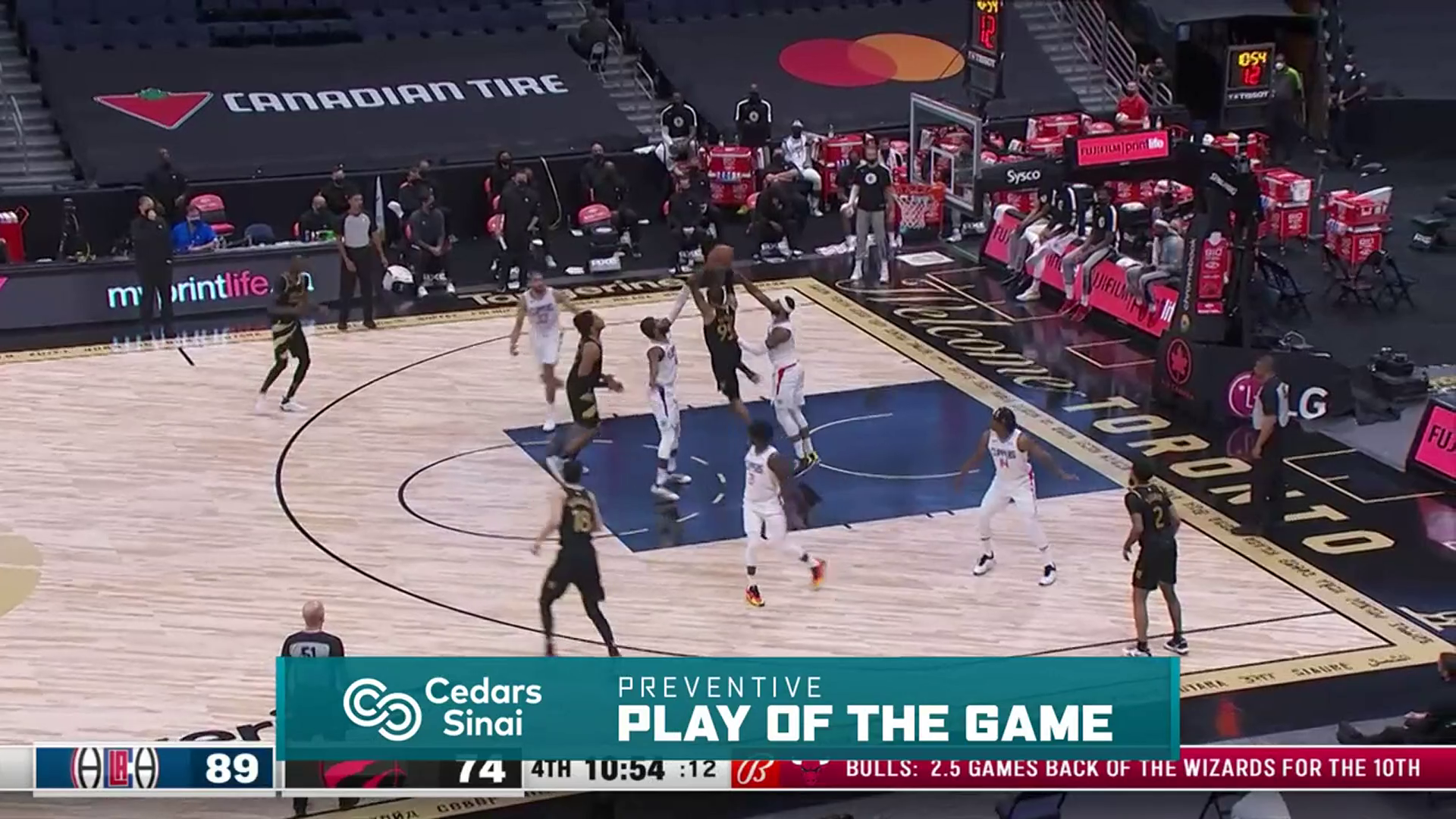 Cedars-Sinai Preventive Play of the Game | Clippers vs Raptors (5.11.21)