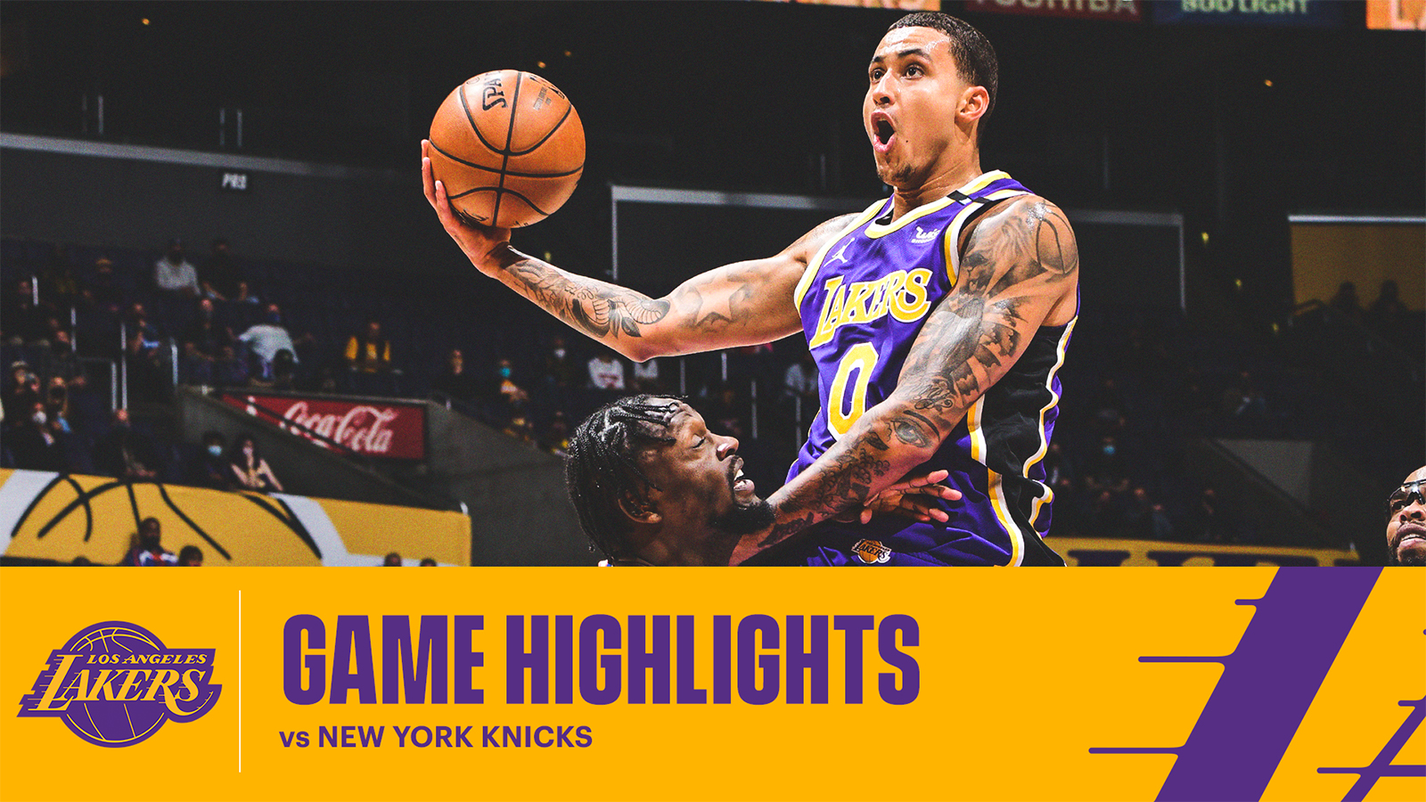 HIGHLIGHTS | Kyle Kuzma (23 pts, 3 reb) vs New York Knicks