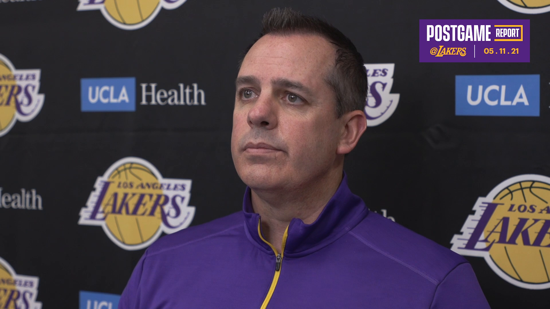 Lakers Postgame: Frank Vogel (5/11/21)
