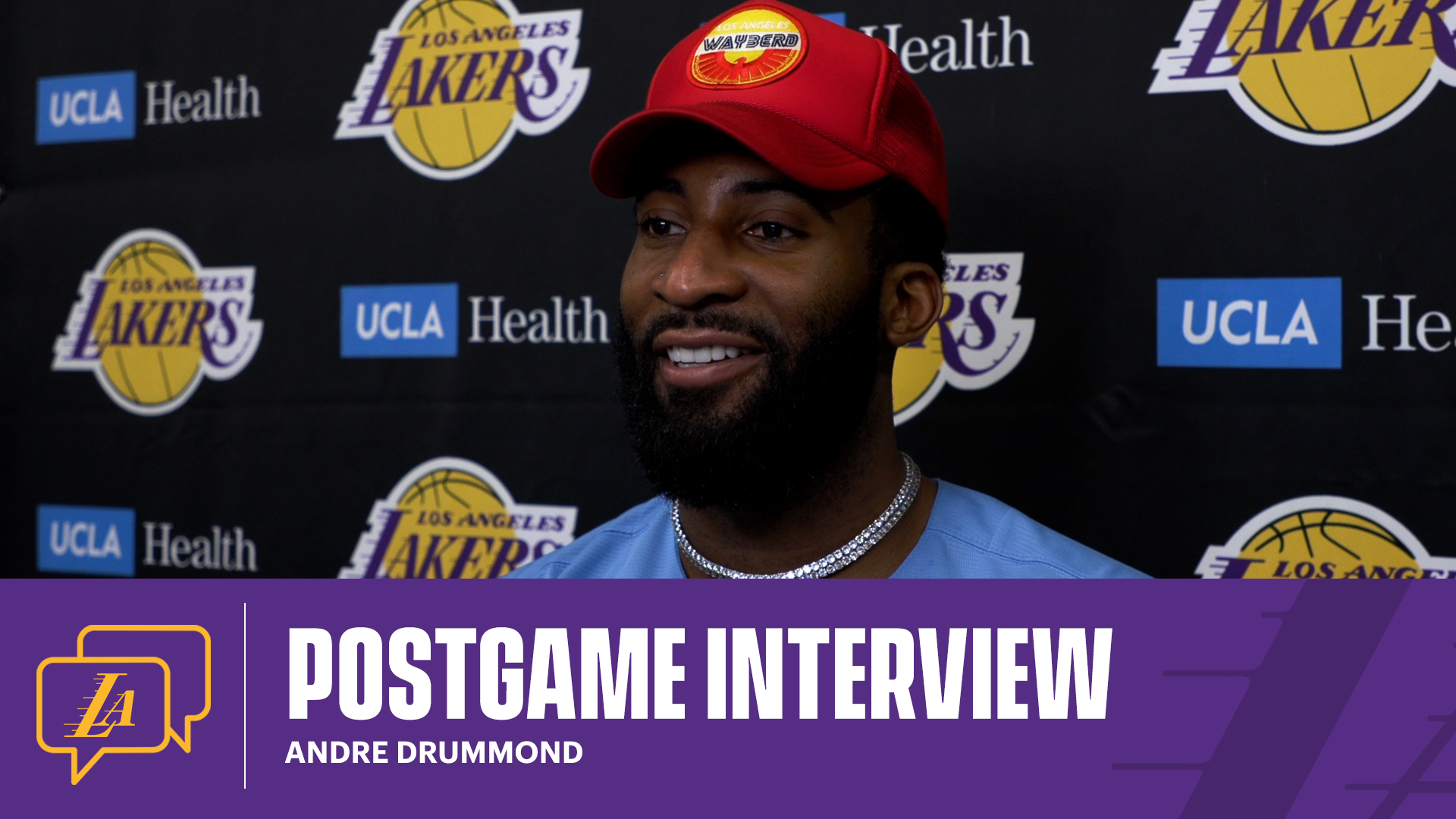 Lakers Postgame: Andre Drummond (5/11/21)