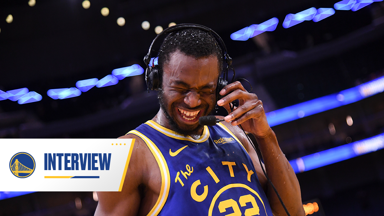 Postgame Warriors Talk: Andrew Wiggins - 5/11/21