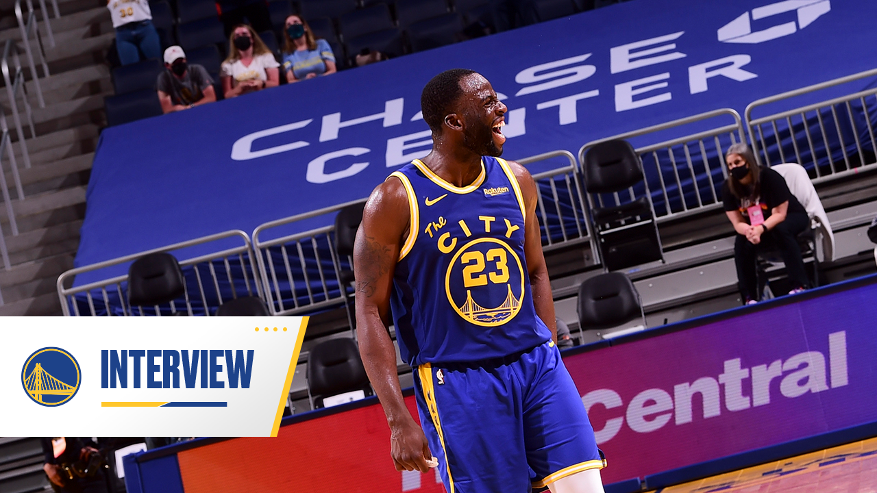 Postgame Warriors Talk: Draymond Green - 5/11/21