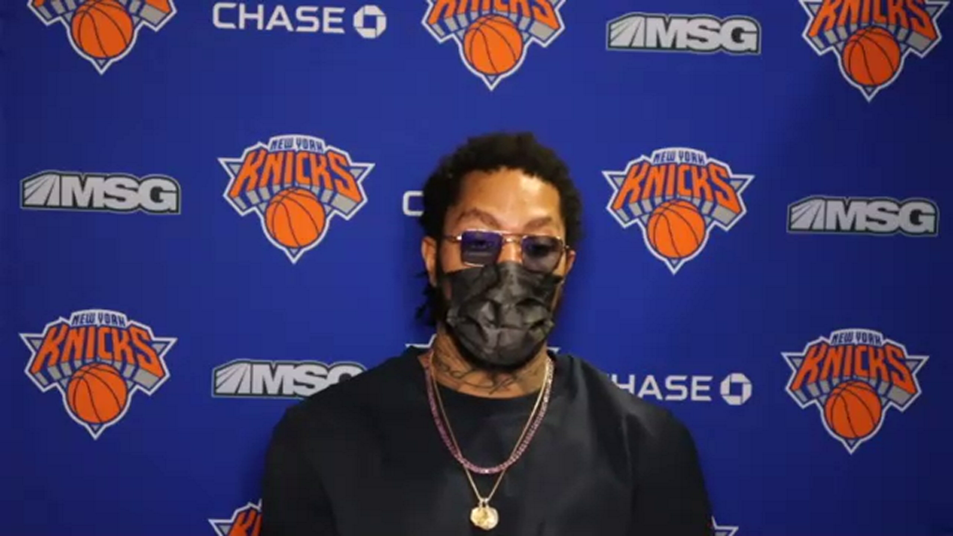 Postgame: Derrick Rose | Knicks @ Lakers