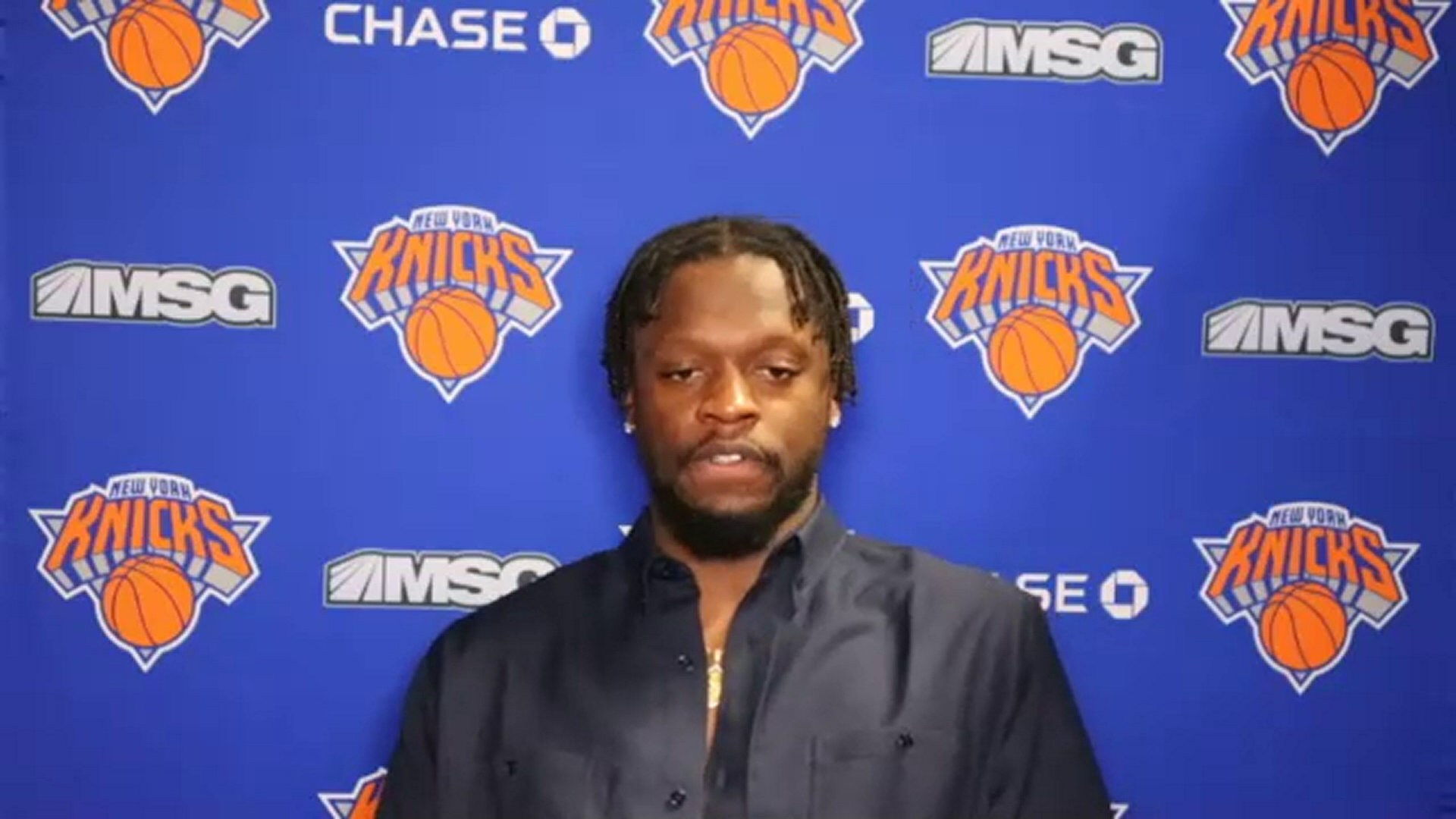 Postgame: Julius Randle | Knicks @ Lakers