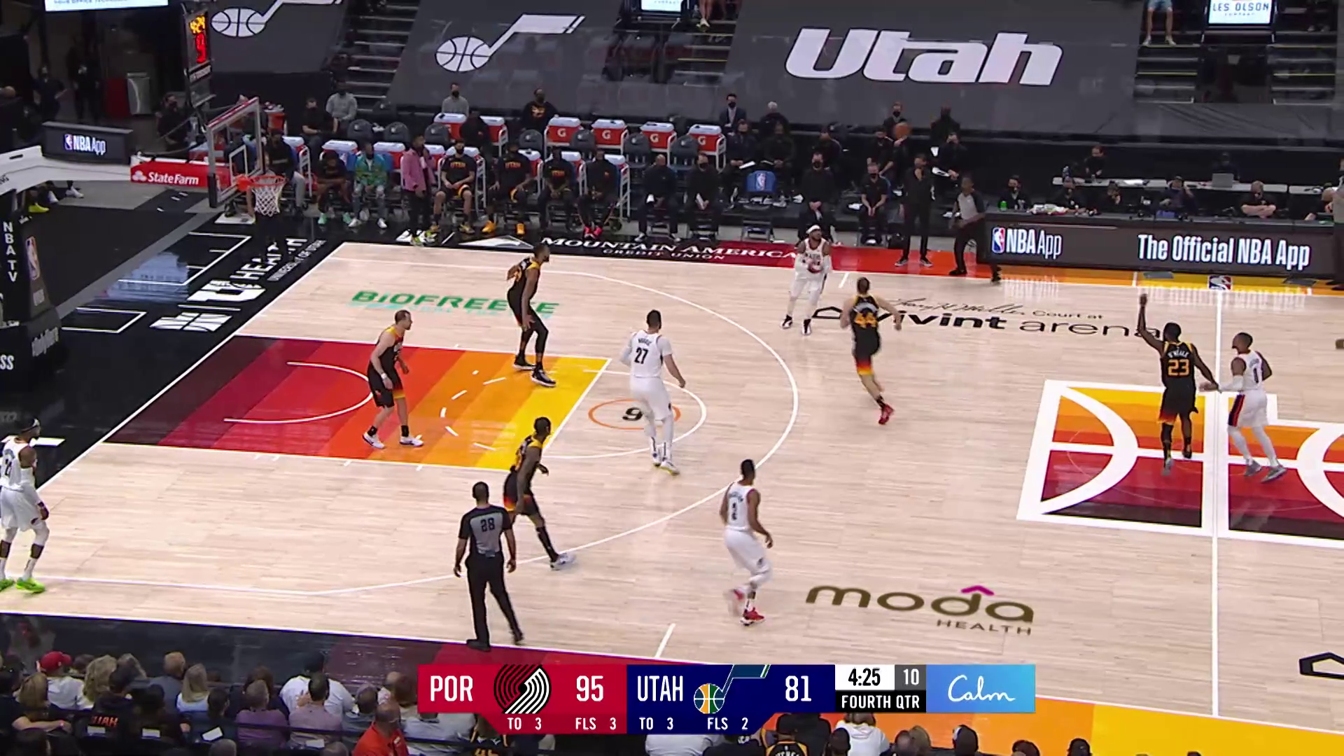 Trail Blazers 105, Jazz 98 | Game Highlights by McDelivery