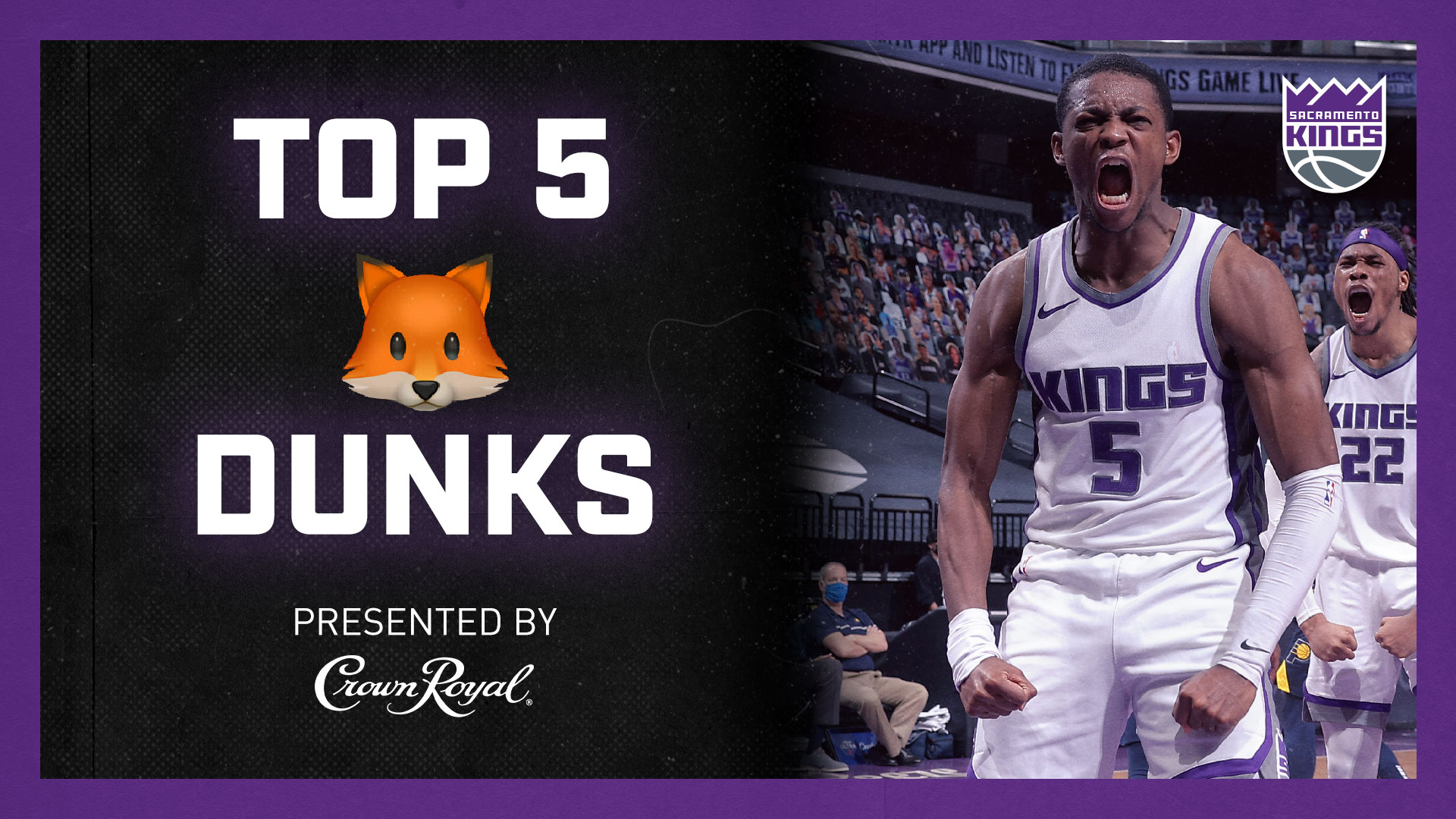 Top 5 De'Aaron Fox Dunks