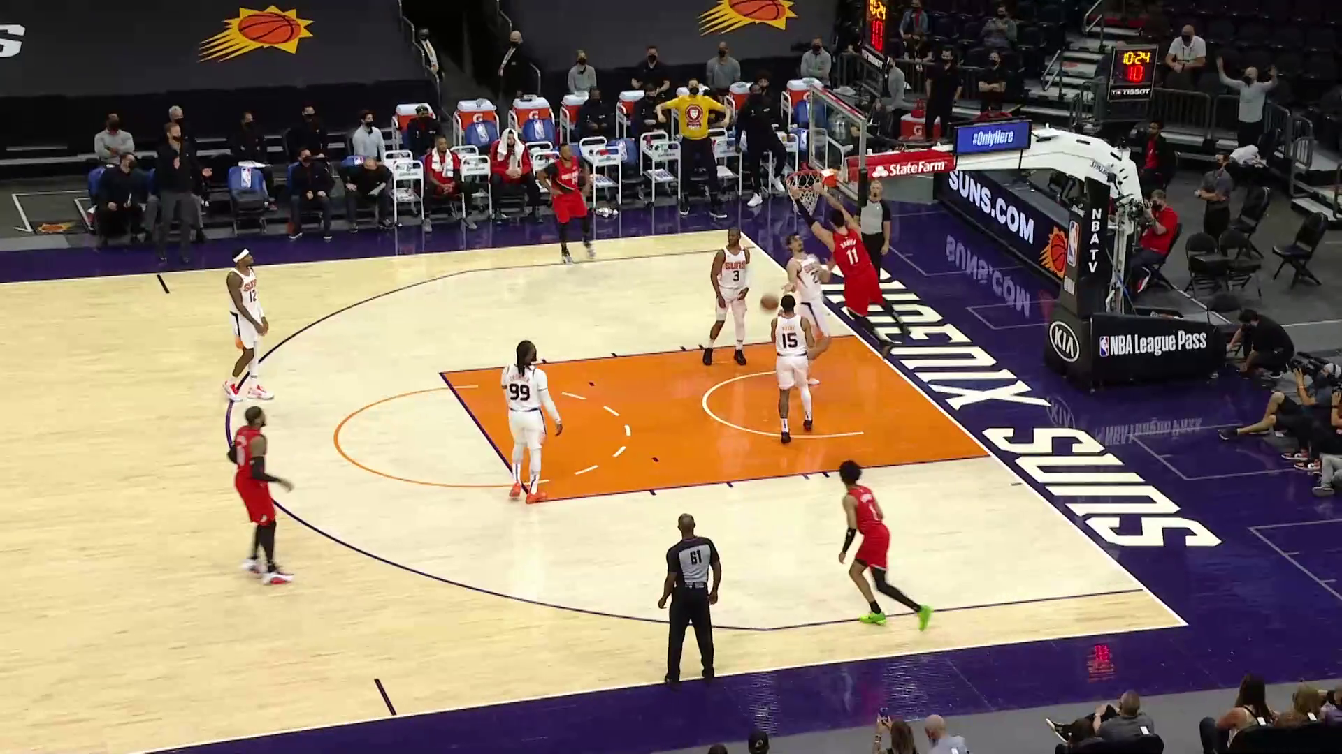 Trail Blazers 117, Suns 118 | Game Highlights by McDelivery