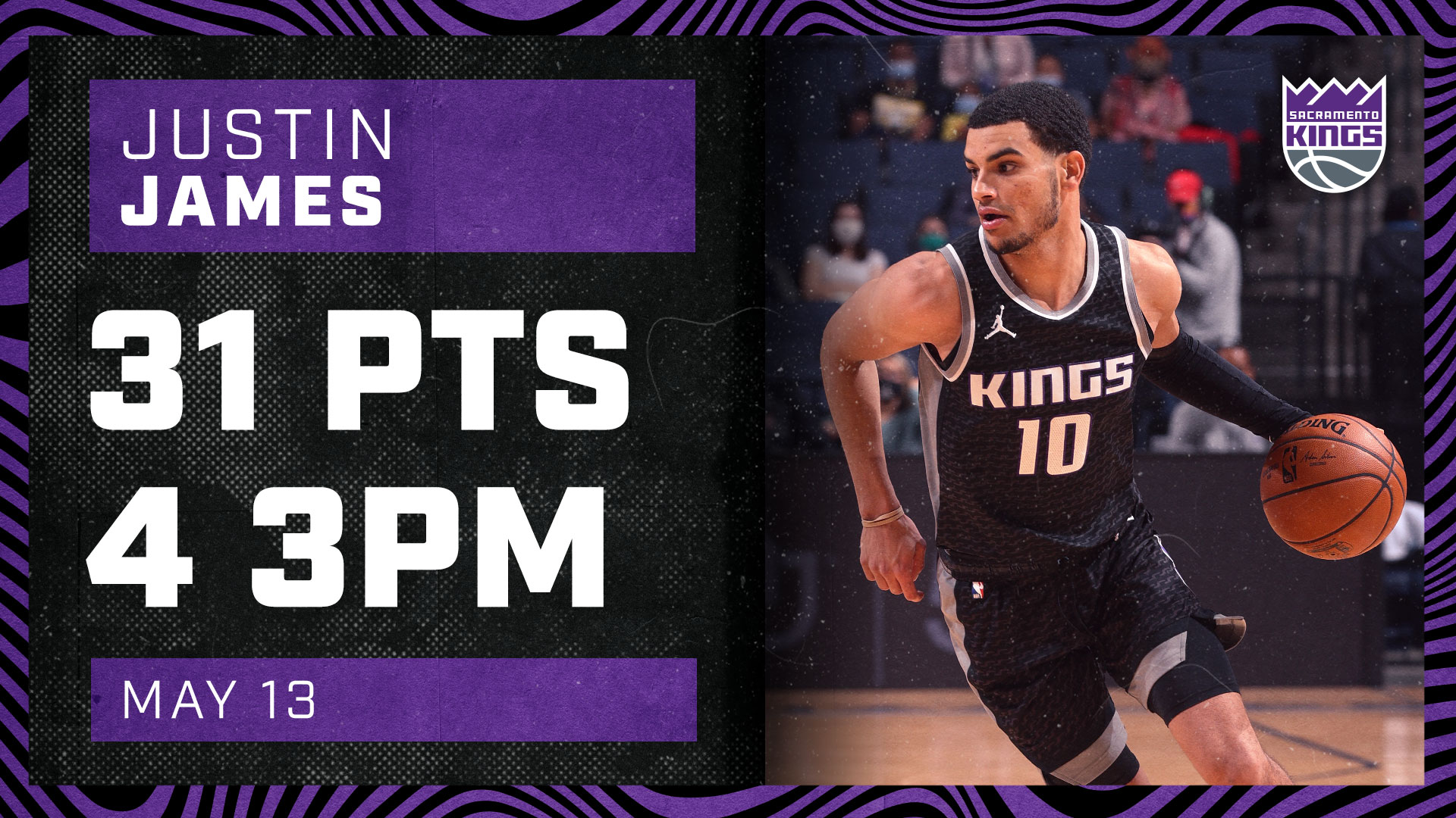 Justin James Drops Career-High 31 PTS! | Kings vs Grizzlies 5.13.21
