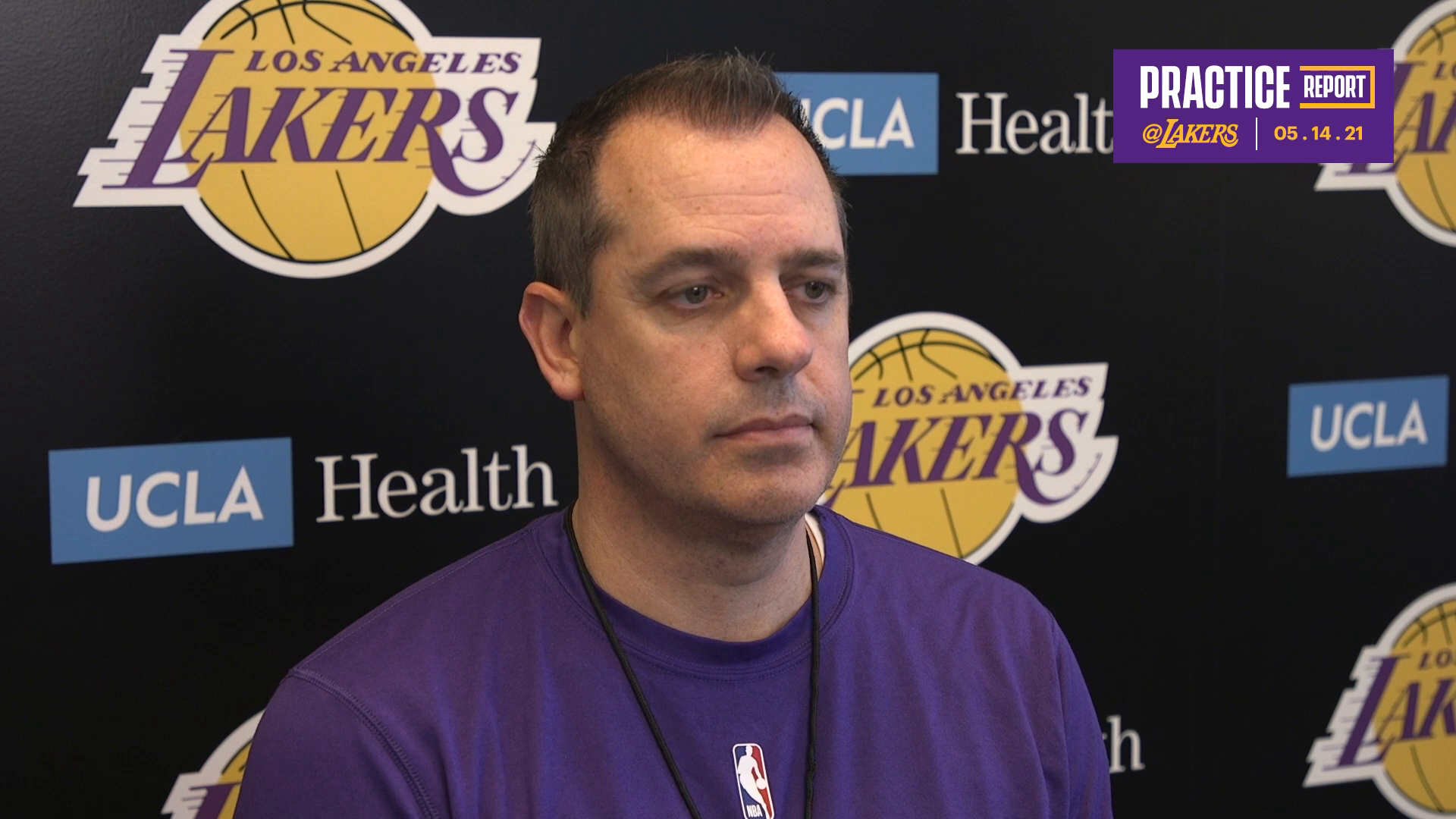 Lakers Practice Report: Frank Vogel (5/14/21)