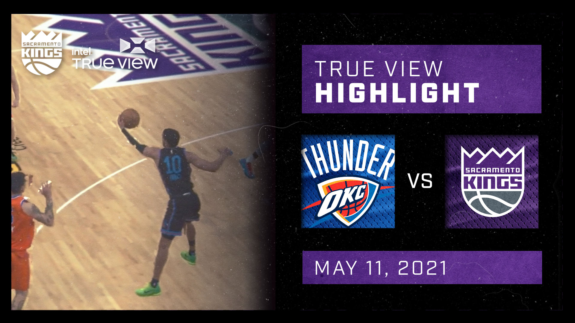 Intel True View Highlight - James Steal vs Thunder 5.11.21
