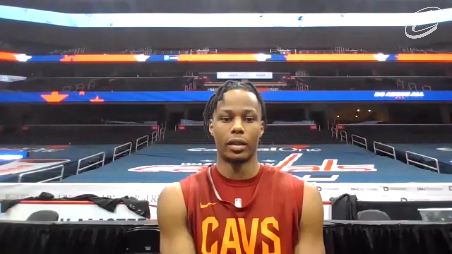 Cavs at Wizards Shootaround: Isaac Okoro