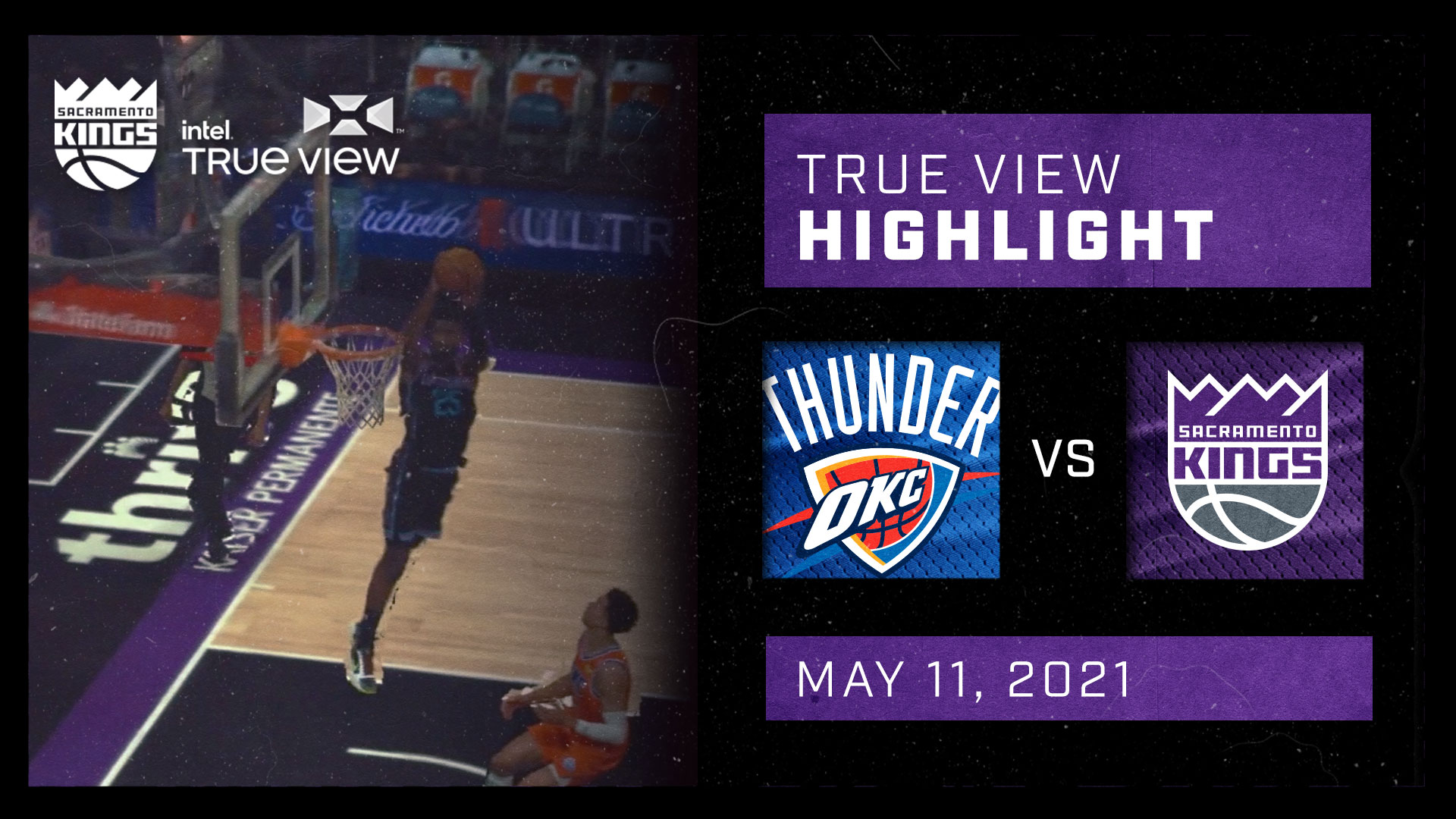 Intel True View Highlight - King Lob to Metu vs Thunder 5.11.21