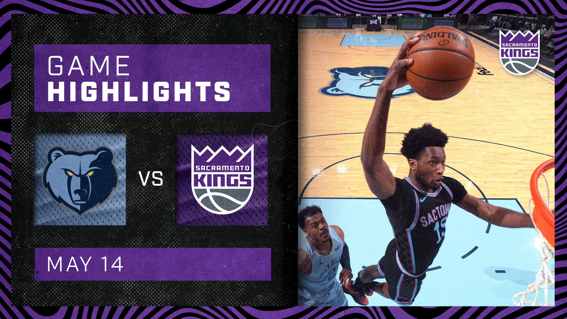 Kings Close Out Their Road Season in Memphis | Kings vs Grizzlies 5.14.21